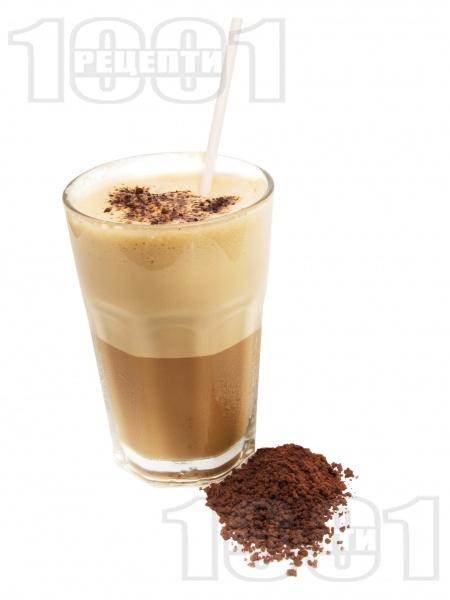 Фрапе с шоколадов ликьор - снимка на рецептата